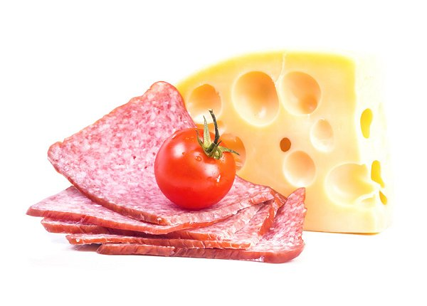 kaas en worst